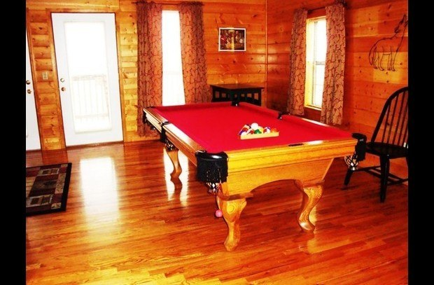 Pool Table located in game room also Air Hockey ..PS2  Console..DVD & Movies
