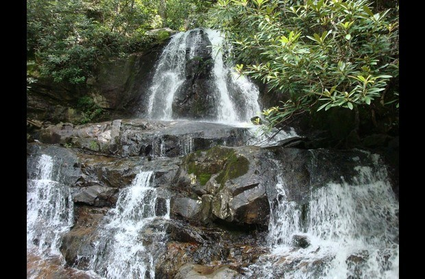 Nearby Laurel Falls--Smoky Mountain National Park